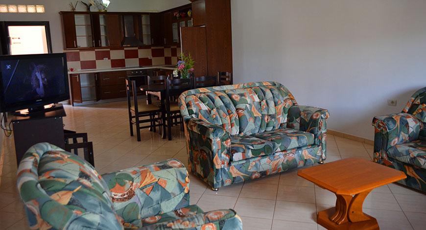 Doni Apartments Ksamil Albania, apartment 4 living room
