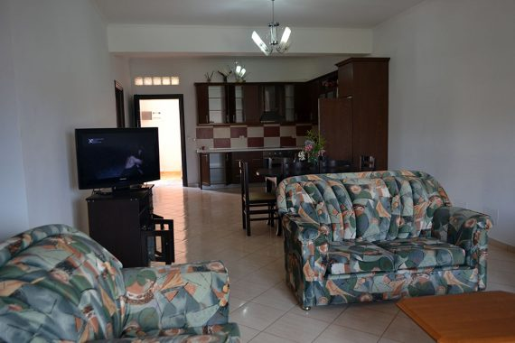 Doni Apartments Ksamil Albania, apartment 4 living room