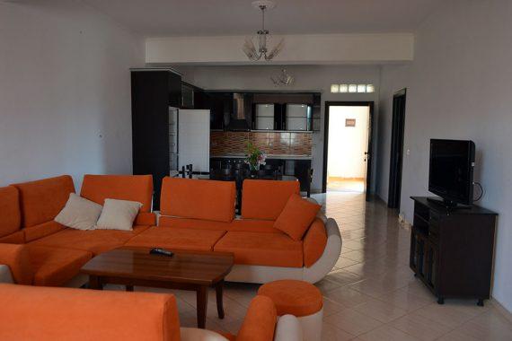 Doni Apartments Ksamil Albania, apartment 1 living room