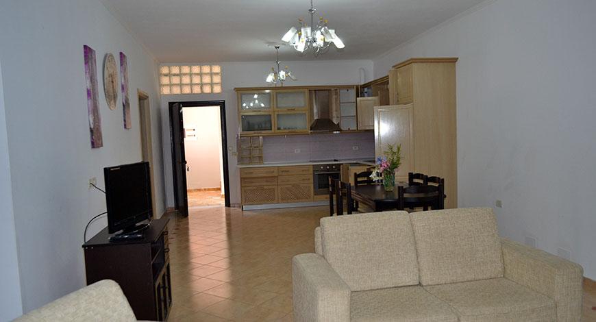 Doni Apartments Ksamil Albania, apartment 2 living room