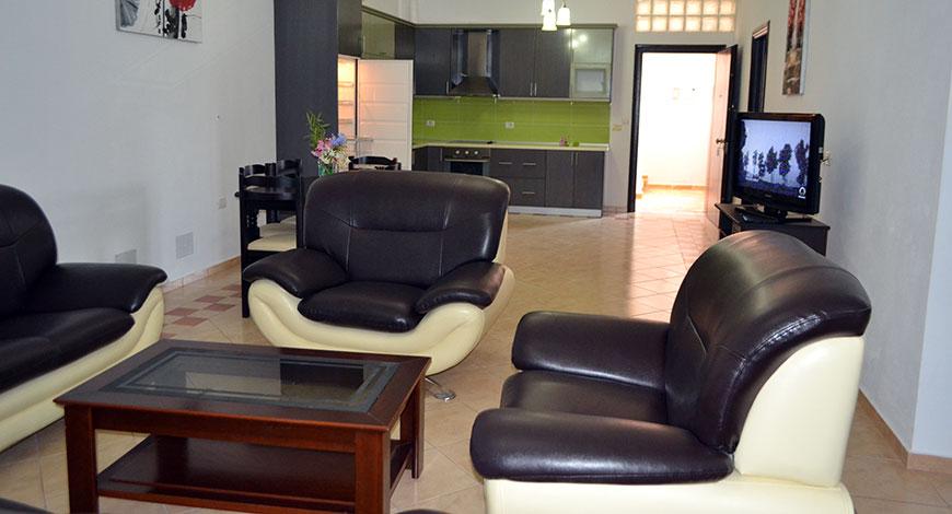 Doni Apartments Ksamil Albania, apartment 3 living room